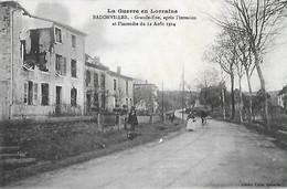 54 - Meurthe Et Moselle - BADONVILLER - Grande Rue - Après L'invasion Et L'incendie Du 12 Août 1914 - - Frankreich