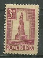 POLAND MNH ** 448 Monument De Kosciuszko à Lodz - Unused Stamps