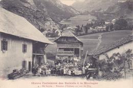 (7)    Oeuvre Parisienne Des Enfants à La Montagne - En Savoie - Réunion D' Enfants Un Jour De Fête - Unclassified