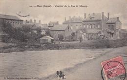 Ham Quartier De La Rue De Chauny - Ham