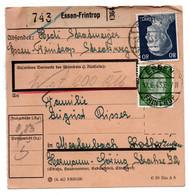 Allemagne  //  Colis Postal  //   De Essen Frintrop  / 12-6-43 - Briefe U. Dokumente