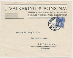 Firma Envelop Limmen 1939 - Bloembollen - Unclassified