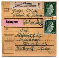 Allemagne  //  Colis Postal  //   De Wehrse   / 16-3-43 - Briefe U. Dokumente