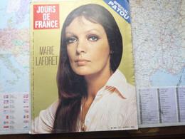 Jour De France N°929 10 Octobre 1972 Marie Laforet / Spécial Patou - Informations Générales