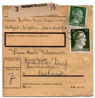 Allemagne  //  Colis Postal  //   De Stuttgart - Degerloch - Briefe U. Dokumente