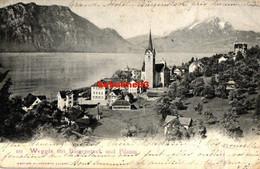 Weggis Mit Burgenstock Und Pilatus - 1903 - LU Lucerne