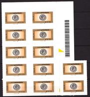 ITALIE - Lot De 12 Timbres Auto-adhésifs - Valeur Faciale : 0,60 E X 12 = 7,20 Euros - Neufs - 2011-...:  Nuevos