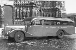 Ancien Autobus Latil -  'Les Rapides De Champagne'    -  15x10 PHOTO - Bus & Autocars