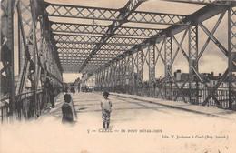 CREIL - Le Pont Métallique - Creil