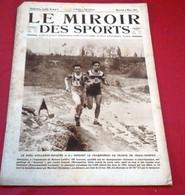 Miroir Des Sports N°247 Mars 1925 Course De Côte Argenteuil,Cross Maisons Lafitte, France Pays De Galles Rugby 5 Nations - Sport