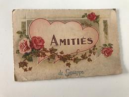 Carte Postale Ancienne AMITIES DE Genappe - Genappe
