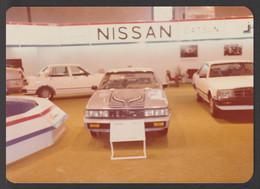 Saudi Arabia - Rare - Original Photo Of ( Datsun - NISSAN ) Exhibition In Saudi - Arabia Saudita