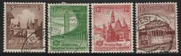 Deutsches Reich - 1938 Michel 666-668   German Gymnastics And Sports Festival, Wroclaw - Duitsland