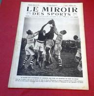 Miroir Des Sports N°74 Décembre 1921Cross Henri Arnaud Viroflay,Aviation Militaire Villacoublay,Boxe Ted Lewis - Sport