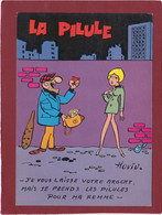 ILLUSTRATEUR HOVIV LA PILULE LE VOLEUR - Humour