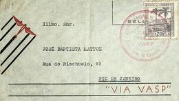 1940 Brasil / Brazil VASP Carimbo Comemorativo / Commemorative Postmark - Luftpost
