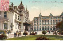 MONACO  Monte Carlo Le Casino Et L'Hôtel De Paris - Hotels