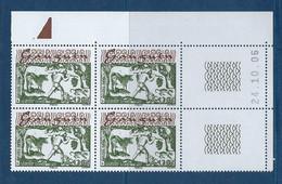 "Polynésie Coins Datés YT 796 "" Oeuvres De P. Gauguin "" Neuf** Du 24.10.2006 - Französisch-Polynesien"