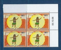 "Polynésie Coins Datés YT 797 "" Dessin D'enfant "" Neuf** Du 5.10.2006 - Französisch-Polynesien"