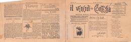 """02024 """"TORINO - IL VENERDI' DELLA CONTESSA - PERIODICO - CALENDARIETTO 1892""""    ORIG. - Calendari"""