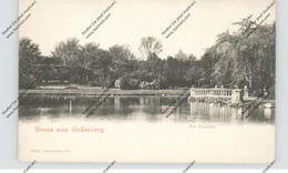 5300 BONN - BAD GODESBERG - Kurpark, Schaar & Dathe, Ca. 1905 - Bonn