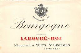 A-20-4416 : ETIQUETTE DE VIN BOURGOGNE. LABOURE-ROI.NUITS SAINT-GEORGES. - Nuits Saint Georges