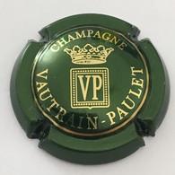 25 - Vautrain-Paulet Ecusson VP, Vert Et Or - Otros