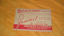 BUVARD ANCIEN..LE SAVON DES PRINCES DU CONGO AU BAUME DU PEROU. - Parfums & Beauté