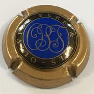 225a - NR - Olivier Père Et Fils, Initiales Cursives OPF, Noir Bleu Et Brun - Olivier & Fils (Veuve)