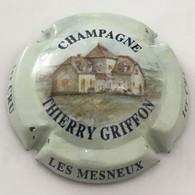 1 - Griffon Thierry, Dessin, Polychrome, Lettres Bleues, Les Mesneux 1er Cru (côte 3 Euros) - Otros