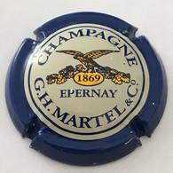 19 - Martel G.H. Et C°, Co Proche Des Feuilles, 1869 En Gros, Contour Bleu Foncé (côte 2 Euros) - Martel GH
