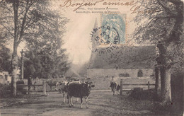 PLOMELIN Environs  -  Chapelle SAINT ROCH ...  Vaches - Altri Comuni