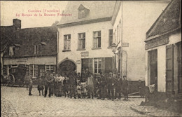 CPA Comines Nord, Le Bureau De La Douane Française, Französischer Zoll - Andere Gemeenten