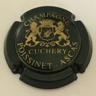 11 - Poissinet-Ascas, Vert Et Or Brillant, Cuchery (côte 2 Euros) - Otros