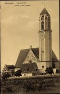 CPA Darmstadt In Hessen, Pauluskirche, Totalansicht - Alemania