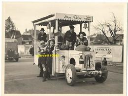 Chagny Dept 71 - Mi-carême 1952 -famille à Duberet - Photo Miguet - 12 X 9 - Lugares