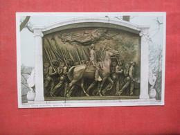 Civil War  Shaw Memorial Boston Mass.     Ref 4411 - War Memorials