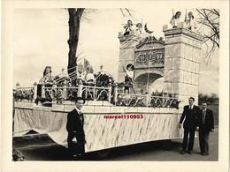 Chagny Dept 71 - Mi-carême 1952-le Pont Des Soupirs   - Photo Miguet - 12 X 9 - Lugares
