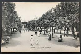 CPA6 - Algérie, 191 Annaba Bone - Le Cours Bertagna, Imp. Crété Corbeil-Paris Voyagée - Annaba (Bône)