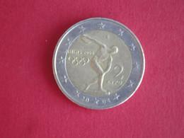2 Euros Grèce 2004 - Jeux Olympiques D'Athènes - Griekenland