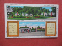 Gas Pumps At Lane's Cottage Couurt & Restaurant  Yemassee South Carolina  Ref 4412 - United States