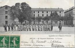 07)   PRIVAS  - 61 E Régiment D' Infanterie  - La Caserne - Privas