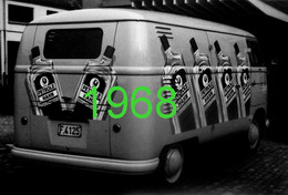 "RARE PHOTO...... VOLKSWAGEN BULLI / COMBI / KOMBI PUBLICITE ""PETROLE HAHN"", 1968 - Auto's"