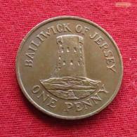 Jersey 1 One Penny 1985 KM# 54 - Jersey