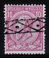 N° 46  OBL ROULETTE - 1884-1891 Léopold II