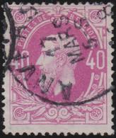 Belgie       .    OBP     .     34   .     O      .  Gebruikt     .   /   .  Oblitéré - 1869-1883 Leopold II.