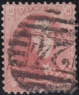 Belgie       .    OBP     .   16  .  Perf. 12½    .     O      .  Gebruikt     .   /   .  Oblitéré - 1863-1864 Medallions (13/16)