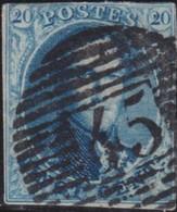 Belgie       .    OBP     .   11     .     O      .  Gebruikt     .   /   .  Oblitéré - 1858-1862 Medallions (9/12)