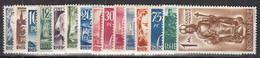 AllBes. FrazZone Rheinland-Pfalz 1-15, Postfrisch **, Persönlichkeiten Und Ansichten 1947 - French Zone