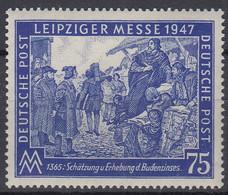 AllBes. GemAusg. 966, Postfrisch **, Mit Abart, Leipziger Messe  1947 - Amerikaanse, Britse-en Russische Zone